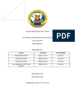 Network and Information System 1 Assignment 1