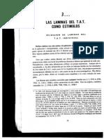 Interpretacion Laminas T.a.T.