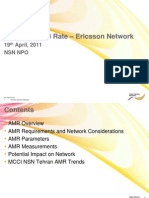 AMR - Ericsson Network;AMR - Ericsson NetworkAMR - Ericsson Network