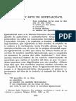 Biografía y Mito de Quetzalcoatl
