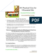 101 Practical Uses for 9 Essential Oils