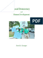 Local Democracy and Human Development