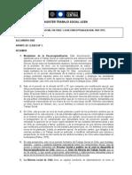 Apunte de Clases n º 1 El Trabajo Social en America Latina, La Reconceptualizacion.