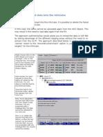 SAP BW - Reload Data