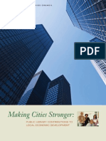 Making Cities Stronger