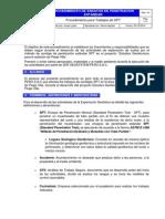 Procedimiento de Trabajo SPT (1)