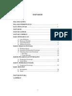contoh Daftar Isi Fisioterapi