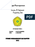 Structure & Statement Programing Java