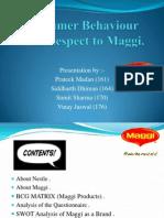 maggi consumer behaviour