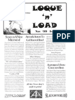 Loque & Load Issue 1 Nov 1999 for Flintloque