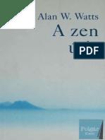 Alan W Watts a Zen Utja