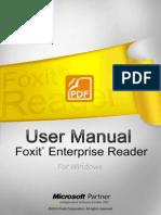 FoxitEnterpriseReader60 Manual
