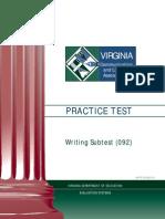 VCLA Writing PracticeTest