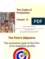 Cost of Produc