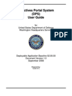 Directives Portal System (DPS) User Guide