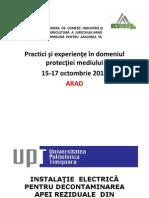 Ecomediu Expo Conferinţa Arad 15-17 Octombrie 2014