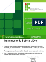 4. Princípio de Funcionamento Dos Instrumentos Eletromecânicos de Medição - Gilmario