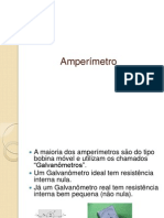 6. Amperímetro