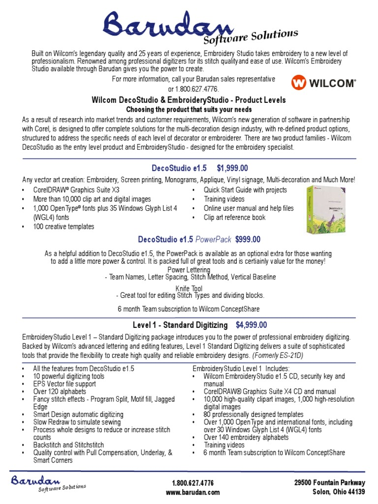 Wilcom manual book | Text | Art Media