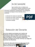 SELECCIÓN DEL DONADOR.pptx
