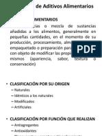 Clase 24 - Toxicologia de Aditivos Alimentarios