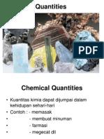 KUL 3 Chemical Quantities