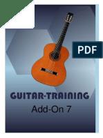 Guitar training 7