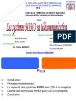 Système MIMO en télecommunication
