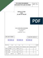 Design Guide of Slab on Grade