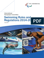 IPC Swimming Rules and Regulations June 2014