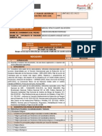 Lista de Cotejo Plan Sectorial Ugel