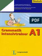 Langenscheidt Grammatik Intensivtrainer A1