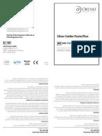 Silver Solder Paste/Flux