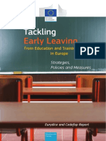 Tackling Early Leaving From Education and Training in Europe (2014)
