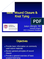 178527_Basic Wound Closure and Knot Tying