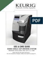 B3000SE Use Care Guide