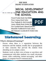 Distanced Learning Presentation