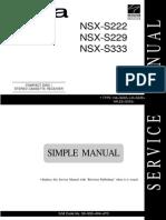 CX-NSX-S222 NSX-S229 NSX-S333 S229_S333