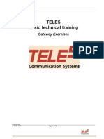 TELES Training Exercises