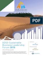 adsg sustainable business leadership forum draft 2