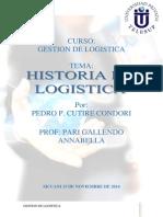 Historia de Logistica