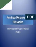Nonlinear Dynamics and Bifurcation - Macroeconometric and Financial Models - Lisbon ppt pdf.pdf
