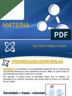 Propiedades Especificas de La Materia