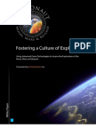 Culture of Exploration Whitepaper