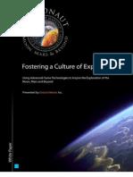 Culture of Exploration Whitepaper