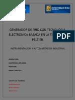 Generador de Frio.peltIER.