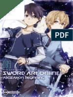 [T4DW] Sword Art Online Alicization Beginning - Capítulo 1 (v-normal)