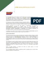COSO Metodología de Mejores Prácticas Para El Control Interno 1