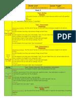short lesson plan