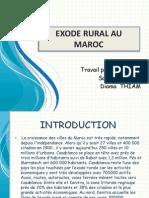Exode Rural Au Maroc